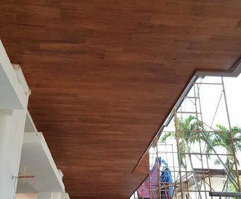 Teak Wood Ceiling