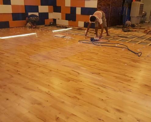 installation junckers sports flooring manila